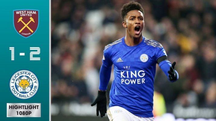 Leicester Bawa Pulang Tiga Poin dari Kandang West Ham