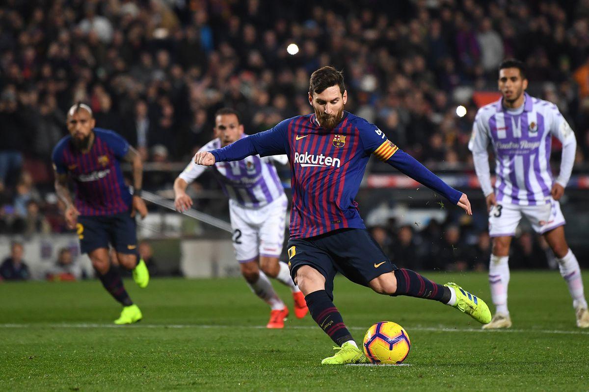 Begini Pujian Valverde, Vidal, dan Kapten Valladolid Terhadap Messi Yang Tampil Memukau