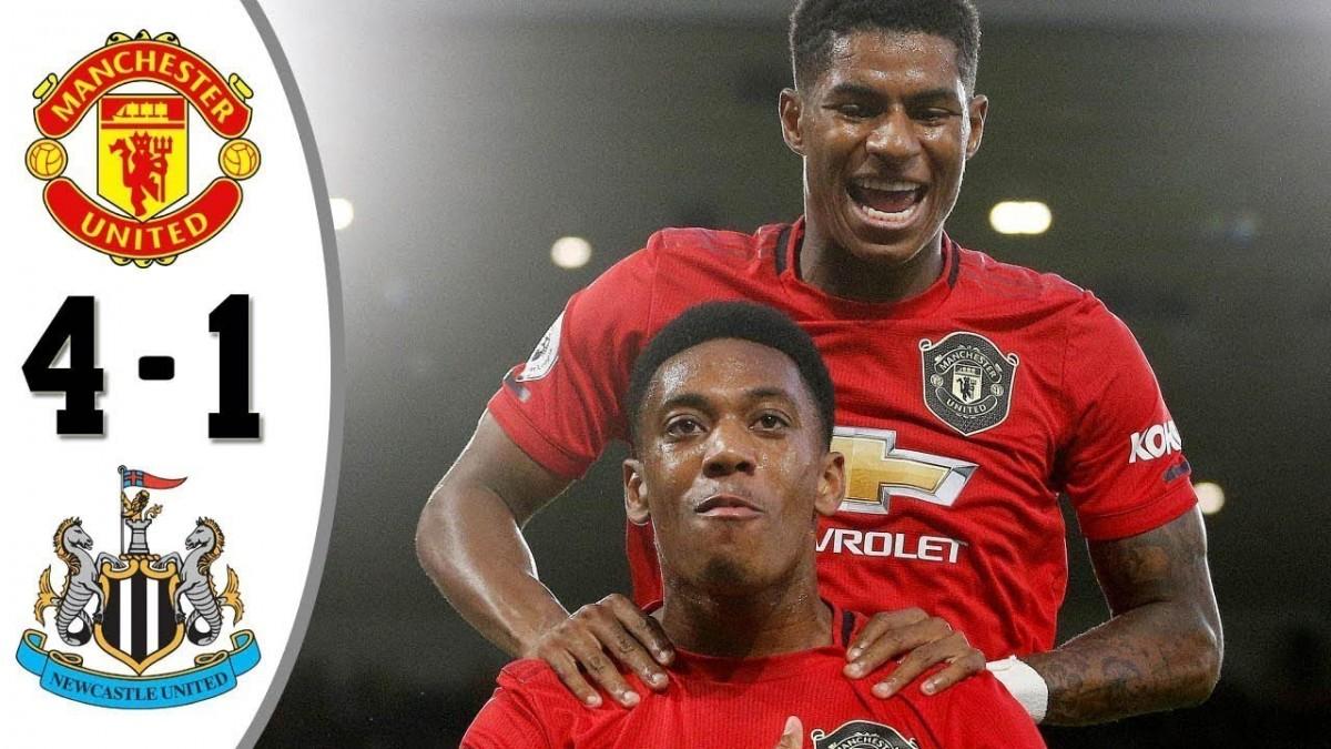 Man United Tumbangkan Newcastle 4-1, Martial Menyumbang Dua Gol