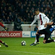 PSG pesta gol di kandag Club Brugge