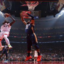 Toronto Raptors melawan New Orleans Pelicans