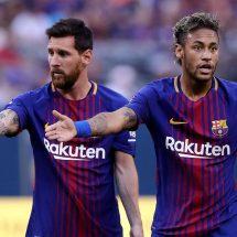 Messi dan Neymar saat masih bermain di Barcelona