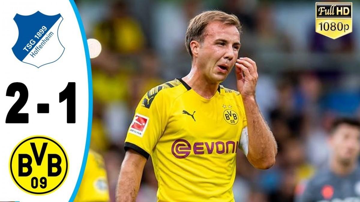 Dortmund Tumbang 1-2 di Markas Hoffenheim