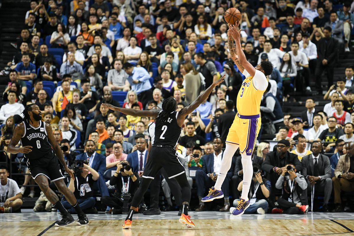 Anthony Davis Cedera, Brooklyn Nets Kalahkan Lakers