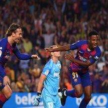 Barcelona Hancurkan Valencia di Camp Nou Dengan Skor 5-2