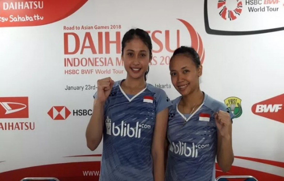 Della/Rizki Menjadi Unggulan Pertama Indonesia di Vietnam Open 2019