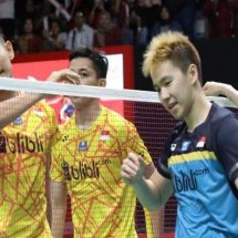 Kevin/Marcus Akan Bertemu Fajar/Rian di Semifinal China Open 2019