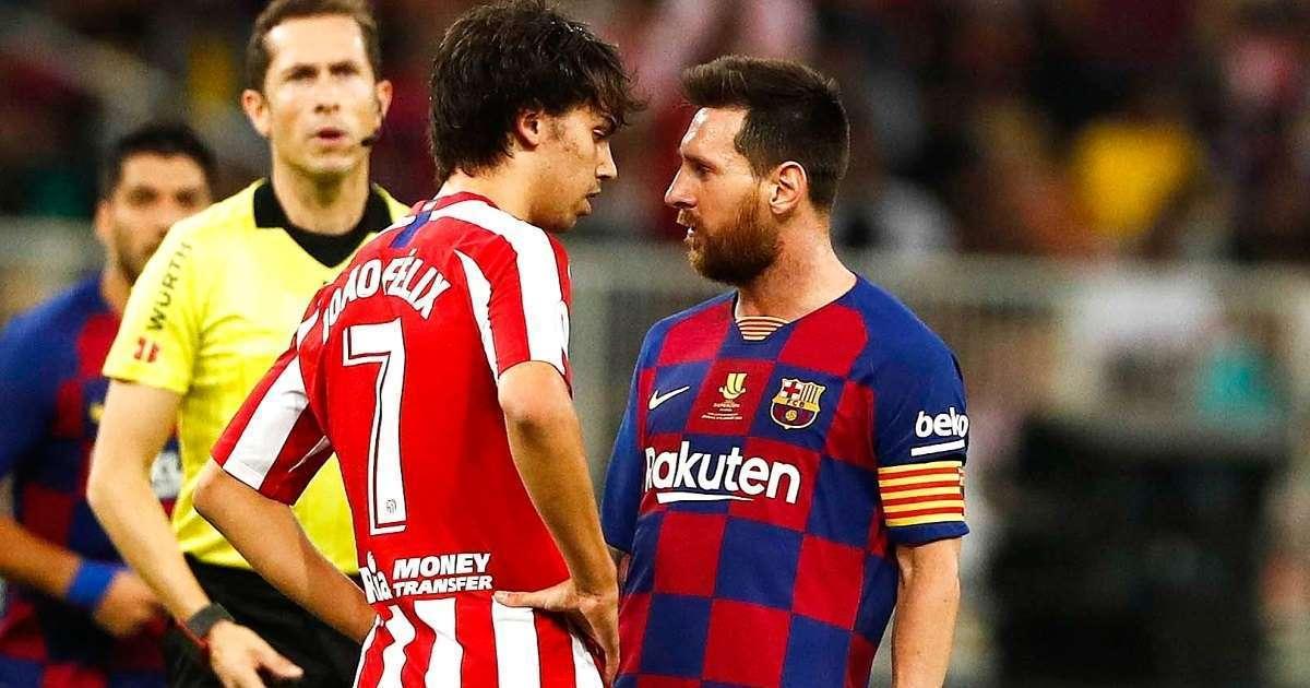 Joao Felix Terlibat Keributan Dengan Lionel Messi dan Jordi Alba
