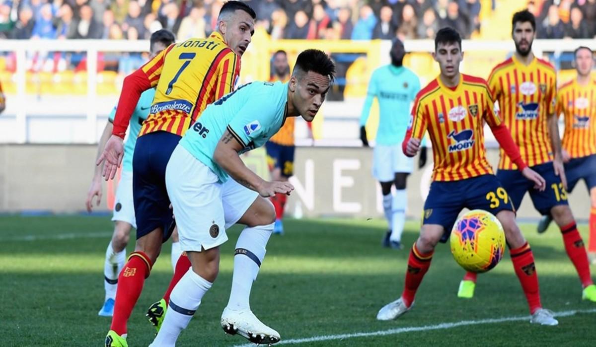 Inter Buang Dua Angka Krusial di Markas Lecce