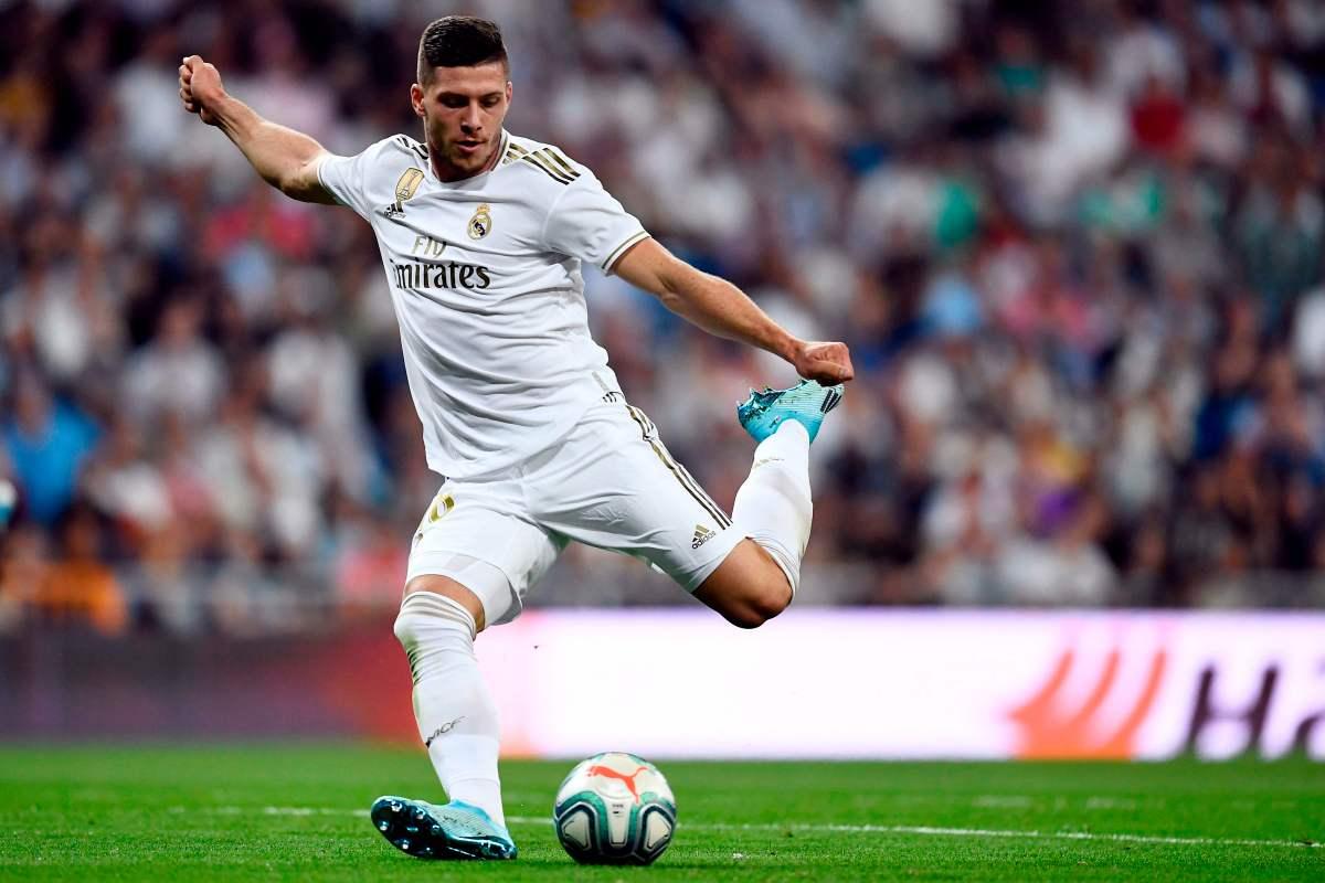 Peluang Besar AC Milan, Rekrut Luka Jovic dari Real Madrid