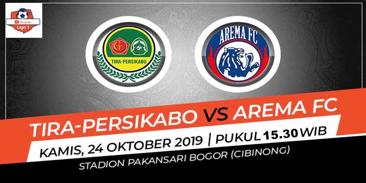 Laga Sulit 2 Tim yang Pincang, Tira Persikabo Vs Arema FC