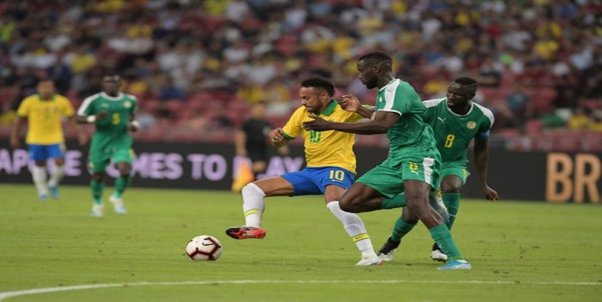 Brasil Ditahan Imbang Senegal