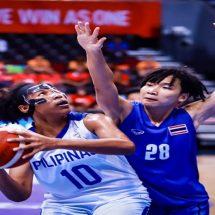 Partai final basket putri 5v5 SEA Games 2019 mempertemukan Filipina dan Thailand