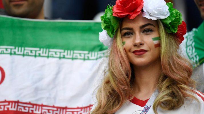 supporter wanita iran