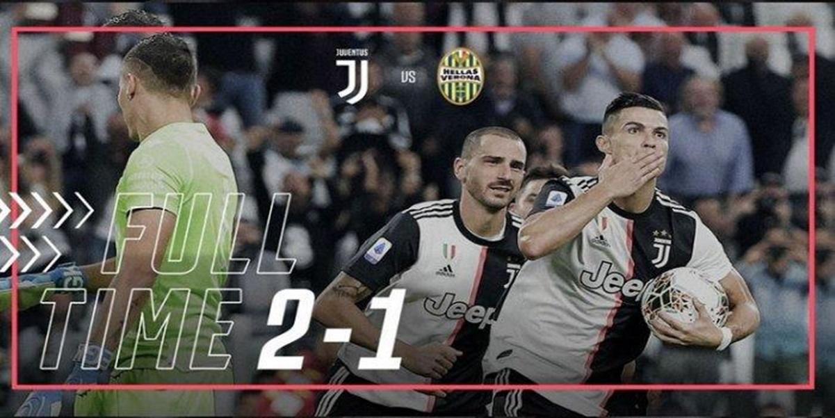 Juventus Kuasi Puncak Klasmen Serie A Liga Italia, Cristiano Ronaldo menjadi pahlawan