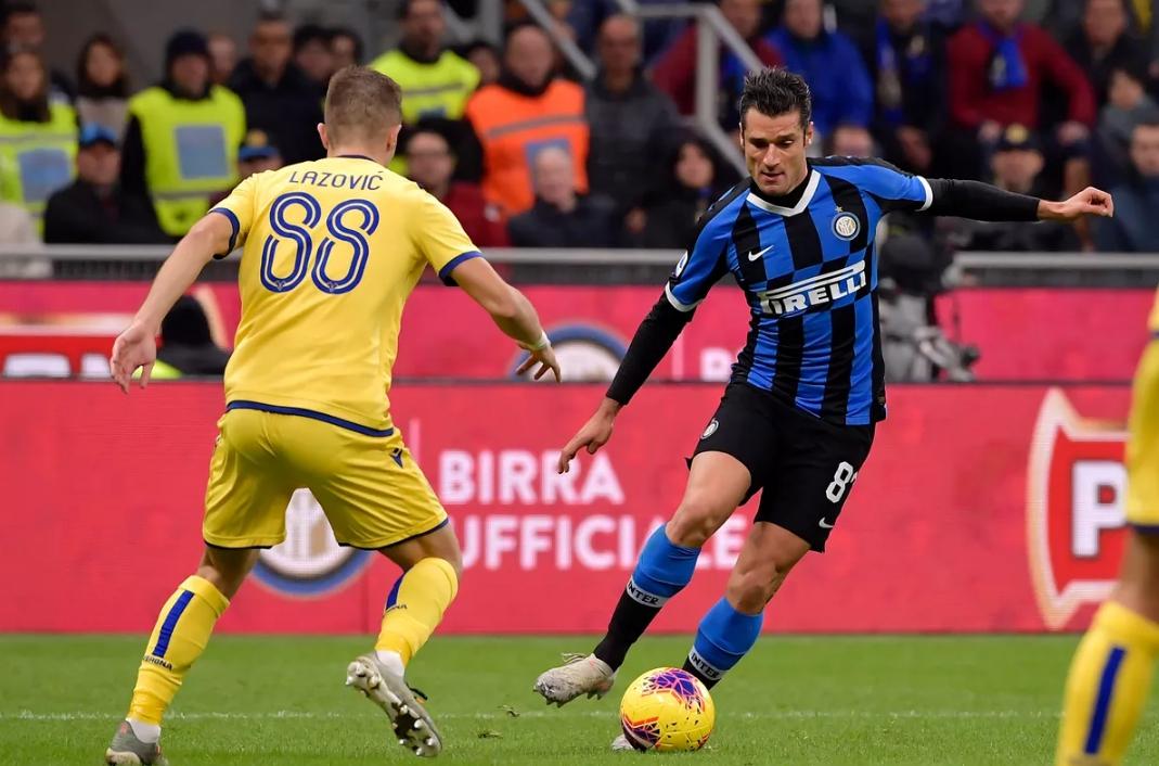Inter Milan Gagal Kembali ke Posisi Ketiga, Setelah Ditahan Verona 2-2