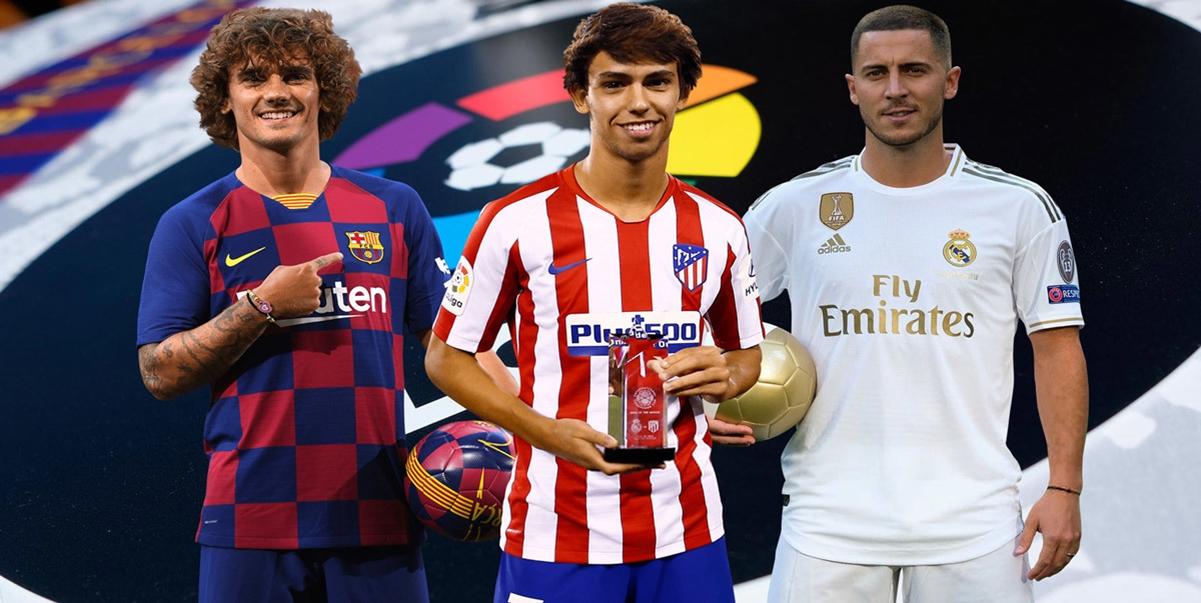 Ringkasan La Liga 2019/20: Dari Eden Hazard, Antoine Griezmann, Hingga Joao Felix