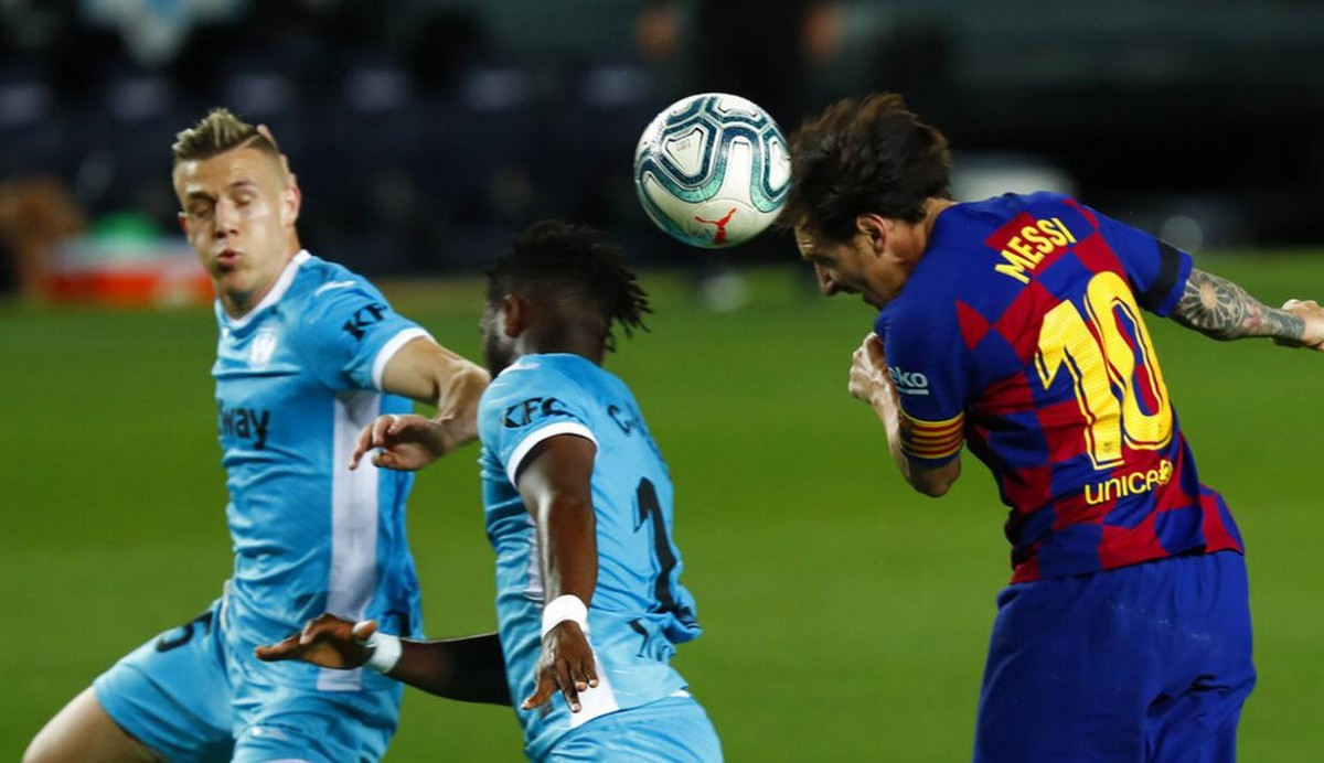 Suguhan Menawan Lionel Messi Saat Menjamu Leganes di Camp Nou