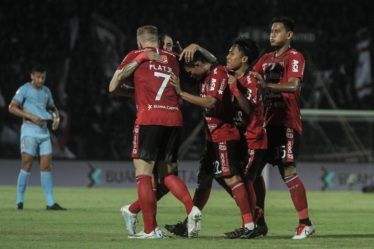 Bali United Pincang Tanpa Ilija Spasojevic dan Paulo Sergio